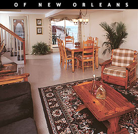 The Lake House Three Three Bedroom New Orleans Vacation Rental